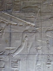 Anuket, Philae (Aidan McRae Thomson) Tags: philae temple egypt ancient egyptian ptolemaic relief anuket anqet