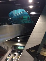 One Way or Another (markshephard800) Tags: escalator hydro spaceship foster norman glasgow scotland lights modern interior