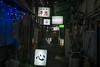 glowing signs at night alley (kasa51) Tags: sign alley night light kanji katakana hiragana 路地 看板 埋地七ケ町 南一つ目沼 吉田新田