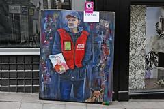 Big Issue Seller portrait (Leo Reynolds) Tags: xleol30x leol30random panasonic lumix fz1000 painting