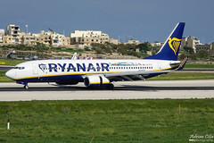 Ryanair --- Boeing 737-800 --- EI-FIT (Drinu C) Tags: adrianciliaphotography sony dsc rx10iii rx10 mk3 mla lmml plane aircraft aviation ryanair boeing 737800 eifit 737