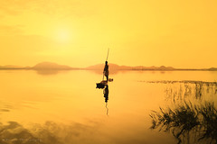 Kolavai lake, Chengalpattu, Tamilnadu, India (Suresh V Raja) Tags: kolavailake chengalpattu nature river water sunrise sunset nikon suresh chennai tamilnadu india sureshcprog sureshphotography d5300 lake fishing salem yercaud
