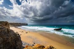 5 Tonel Beach (_Rjc9666_) Tags: algarve beach cliffs clouds coastline colors landscape nikond5100 places portugal praia praiadotonel sagres sea seascape sky storm tokina1224dx2 weather ©ruijorge9666 travel holiday tourism tourismo turismo 1969 5
