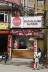Burger joint (posterboy2007) Tags: kathmandu nepal street burgerjoint food kiosk sony