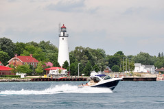 MIchigan - Fort Gratiot Lighthouse (Jim Strain) Tags: jmstrain lighthouse michigan greatlakes porthuron lakehuron