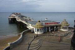 D17490.  Cromer Pier, North Norfolk. (Ron Fisher) Tags: cromer norfolk northnorfolk eastanglia england gb greatbritain uk unitedkingdom europe sony sonyrx100iii sonyrx100m3 pier sea water waser ocean coast evening