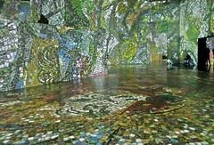MILANO - Museo della Permanente (cannuccia) Tags: milano lombardia musei museopermanente verde pittori marcchagal geometrie surrealismo tecnologia fabuleuse