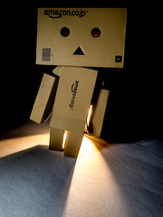 Shine on. (CWhatPhotos) Tags: cwhatphotos danbo light amazon toy pics pictures picture image images copy right foto fotos that have with which contain photo photos ask dark shadow shadows shadowed alone