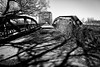 ride across the river (fallsroad) Tags: muskogeeoklahoma ok16 bridge abandoned decay rust rusty rusted highway steel truss arkansasriver blackandwhite bw monochrome