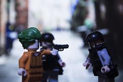 Draw (LegoInTheWild) Tags: moc afol lego minfigure army sidan brickarms joker