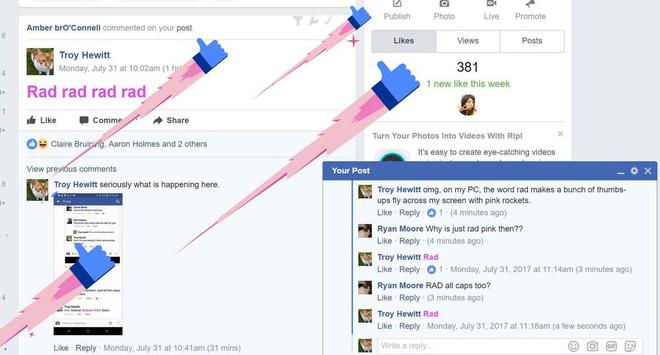 Xuất hiện nút Like nhảy mới vừa có trên Facebook, bạn đã thử chưa? - Ảnh 5.