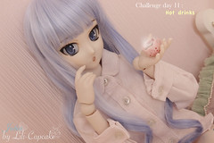 Challenge day 11 (Lili-Cupcake) Tags: jubia lockser fairy tail character dollfie dream sister semi white skin buste l shapely ddh07 modded wig bleue yeux custom challenge photo décembre