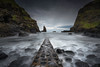 Port Coon (Dani℮l) Tags: northernireland causewaycoast atlantic danielbosma landscape seascape jetty ruin rock water break wave stack rotsen kust uk