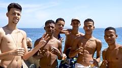 The Rocinha favela boys (a l o b o s) Tags: rocinha favela boys garotos copacabana nice cute friends leme rio de janeiro brasil brazil