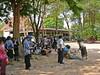 Before the Cremation (Wolfgang Bazer) Tags: cremation einäscherung wat temple ban vientiane mourners laos