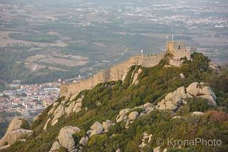 Castle view, Sintra, Portugal