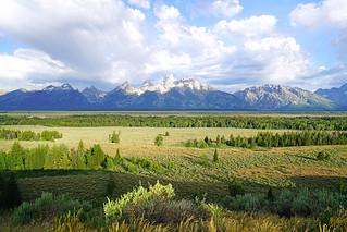 Teton Range from Teton Point Turnout, Wyoming