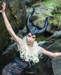 The Demon (gsp-photography) Tags: outdoorlife girl demon photoshoot femaleform dream