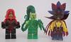 Creed, Liana, Voodoom (Quickblade22) Tags: superheroes superpowers supervillains comics comicbook custom capemadness brickforge brickwarriors