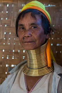 Portrait of a Kayan Lady