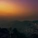 Shimla, foggy night after a sunset