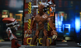 Groot from Lego Marvel Super Heroes 2