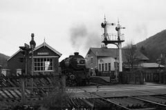 44806 (feroequineologist) Tags: 44806 black5 lms nymr northyorkshiremoorsrailway levisham levishamstation railway train steam