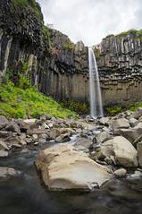 Iceland (Yann OG) Tags: iceland islande icelandic islandais svartifoss skaftafell nationalpark cascade chutedeau waterfall orguesbasaltiques columnarjointedvolcanics vatnajökull poselongue longexposure austurland hornafjörður