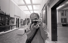 Lady Lever Art Gallery (pho-Tony) Tags: cameraselfportraits liverpool voigtlanderbessal heliar12mm ilfordhp5plus ilford hp5 plus film rodinal iso400 400asa black white bw 35mm analogue 135 ishootfilm filmisnotdead voigtlander bessa l