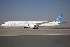 N565ZC_Boeing787-10_BoeingCompany_DWC (Tony Osborne - Rotorfocus) Tags: boeing 787 78710 prototype dreamliner dubai airshow 2017 almaktoum international united arab emirates uae dwc