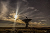 Lunar Blast (J H Newton Images) Tags: moonlight moon beams luna lunar telescope radio vla very large array new mexico night sky stars starry astrophotography