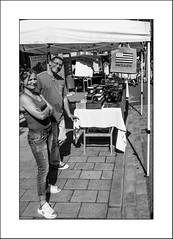 Sourire du marché (Napafloma-Photographe) Tags: 2017 architecturebatimentsmonuments bandw bw bretagne bâtiments catégorieprojet géographie métiersetpersonnages personnes techniquephoto vacances blackandwhite marché monochrome napaflomaphotographe noiretblanc noiretblancfrance photoderue photographe province streetphoto streetphotography lannion côtedamor france fr