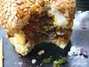 chai ki burger (n.a.) Tags: chai ki indian restaurant crossrail canary wharf london overcooked burger