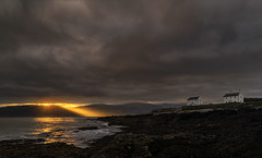 Amazing Sunrise, Coastguard Cottages, Penmon Point, Anglesey, North Wales (MelvinNicholsonPhotography) Tags: anglesey penmonpoint sunrise rays crepuscularrays melvinnicholsonphotography northwales wales