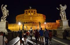 Una notte italiana (Tobi_2008) Tags: rom engelsburg italien italia italy italie city stadt europa europe