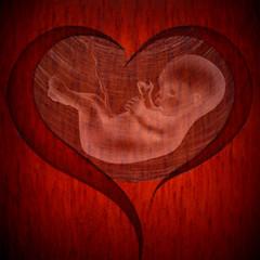 Μαμά (Argyro Poursanidou) Tags: heart mother love baby belly red