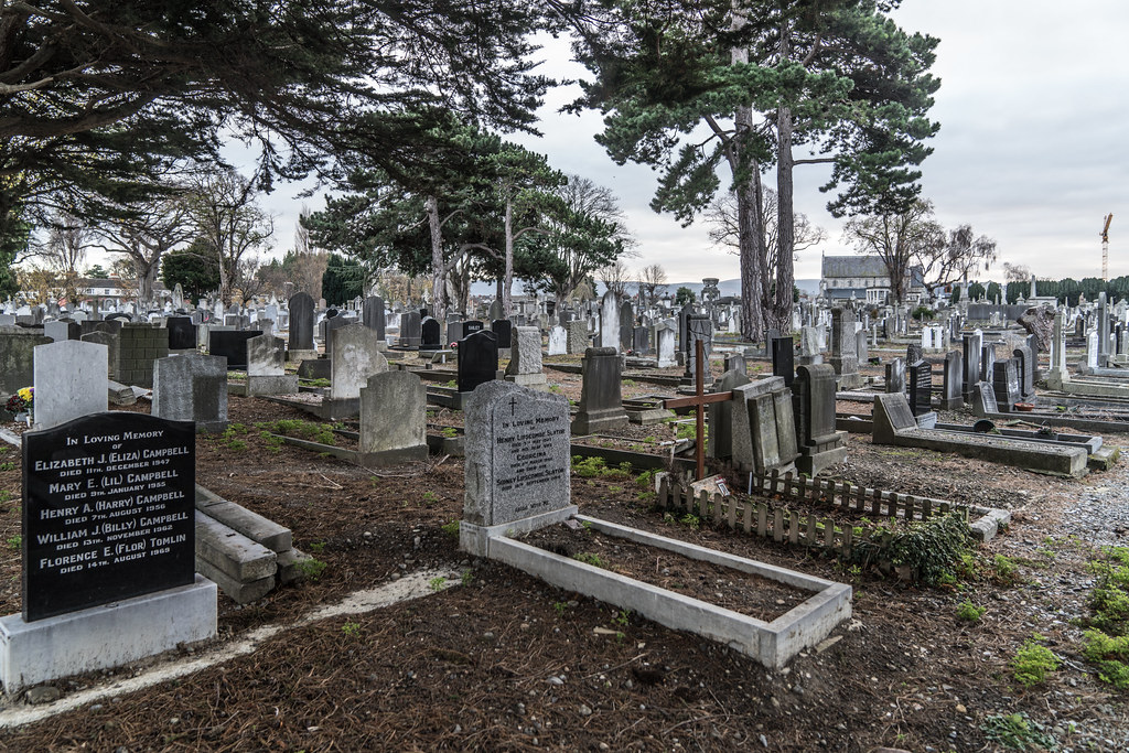 MOUNT JEROME CEMETERY IS AN INTERESTING PLACE TO VISIT [IT CLOSES AT 4PM]-134337