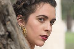 Modelo en exteriores 31 (dorieo21) Tags: portrait mode moda mannequin maniquí fashion earring pendiente boucle