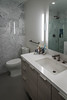 20171101-DSC_3336.jpg (Jorge A. Martinez Photography) Tags: nikon d610 fx sigma24105 modern pool design concrete caribbean blue water waterfall fire pit planters greenery lighting small lot summer fun clean powder room master bathroom remodels white marble floating vanity fixtures shower tub kohler