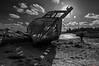 La Passagère ! (guyju) Tags: quelmer lapassagère épave rance saintmalo cimetièredebateaux bretagne britanny mer noiretblanc bw blackandwhite blackwhite monochrome 1020sigma contrejour bateaux marées