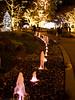 fountain and lights (gemapozo) Tags: night illumination roppongi 645z pentax tokyo japan tokyomidtown 港区 東京都 日本 jp hdpentaxdfa645macro90mmf28edawsr 六本木 夜景 東京ミッドタウン イルミネーション