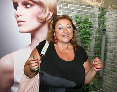 Halina Pawlowska (clarin1077) Tags: boobs breasts tits cleavage huge big massive heavy heaving czech author milf gilf hot sexy tanned bbw