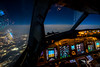 36,000 feet above Belgium, from the seat 0A (gc232) Tags: samyang 20mm f18 uwa ultra wide angle canon 6d livefromtheflightdeck live from flight deck golfcharlie232 cockpit crew airline pilot pilots view fly flying avgeek aviation aircraft airplane air travel captain seat airliner jet plane boeing b737 b737ng b737700 b737800 b737900 737 737ng 737700 737800 737900 instruments high iso iso5000 bright lens night