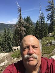 Selfie at Inspiration Point, Lassen National Park (millerscm69) Tags: selfie hike lassen california