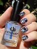 Black Holo Foil (Dora Cristina Fernandes) Tags: foil holographic holográfico silver artisticnails unhasdecoradas realce manicure unhasartísticas nailart nails