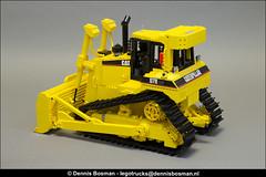 CAT D7R (legotrucks) Tags: cat caterpillar d7r lgp lego legotrucks 856 1979 technic dennisbosman