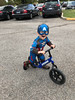 1150 (StriderBikes) Tags: 12 2017 blue boy captainamerica classic costume excited halloween happy october parkinglot photocontestentry smile striding austin texas unitedstates us
