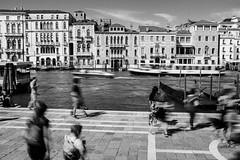 Time is running so fast lately.. (Georgi C) Tags: venice italy street streetphotography streets streetshadows bw monochrome black white blackandwhite fujifilm x100t fujifeed fujifilmx100t people shadows nd ndfilter slow longexposure blur
