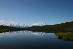 IMG_3658 (Simon M Hendry) Tags: alaska denalinationalpark denali lanscape mountmckinley mountain alaskarange wonderlake reflection