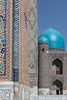 Domes and minarets (Janet Marshall LRPS) Tags: samarkand uzbekistan registan madrassas mosaic tiling archways domes silk road cities